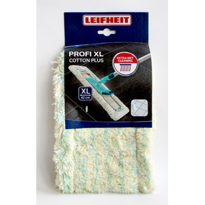 Leifheit 55117 Profi XL cotton plus Wischbezug 42 cm...