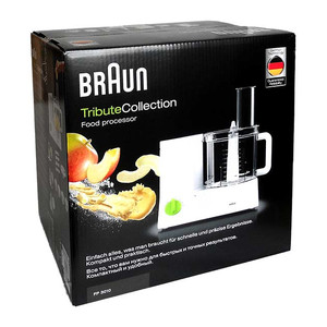 Braun FP 3010 TributeCollection Küchenmaschine weiß