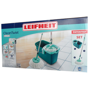 Leifheit 52019 Clean Twist System Mop-Set